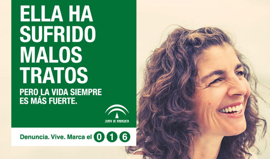 La mujer superviviente protagoniza la campaña de sensibilización contra la violencia de género