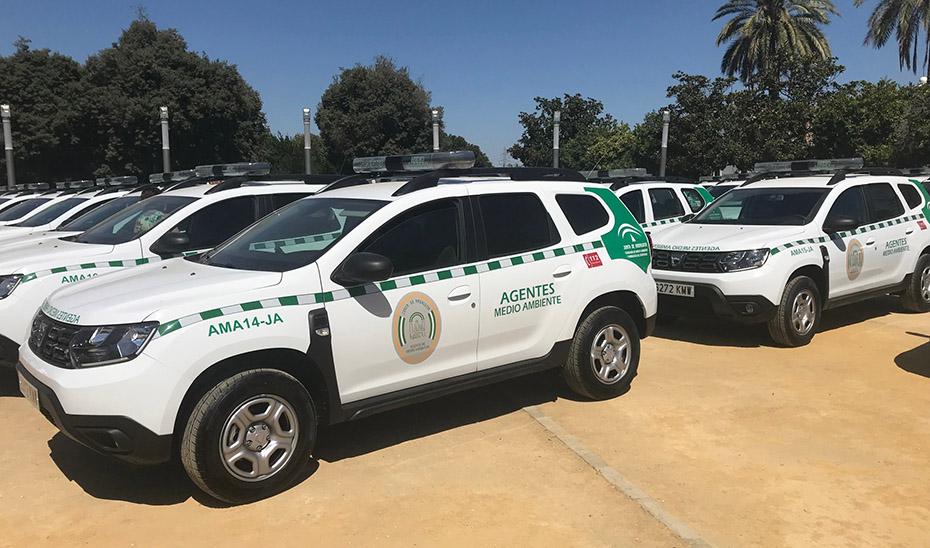 Vehículos destinados a agentes forestales.