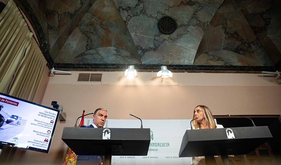 Comparecencia informativa de Elías Bendodo y Marifrán Carazo tras el Consejo de Gobierno (audio íntegro)