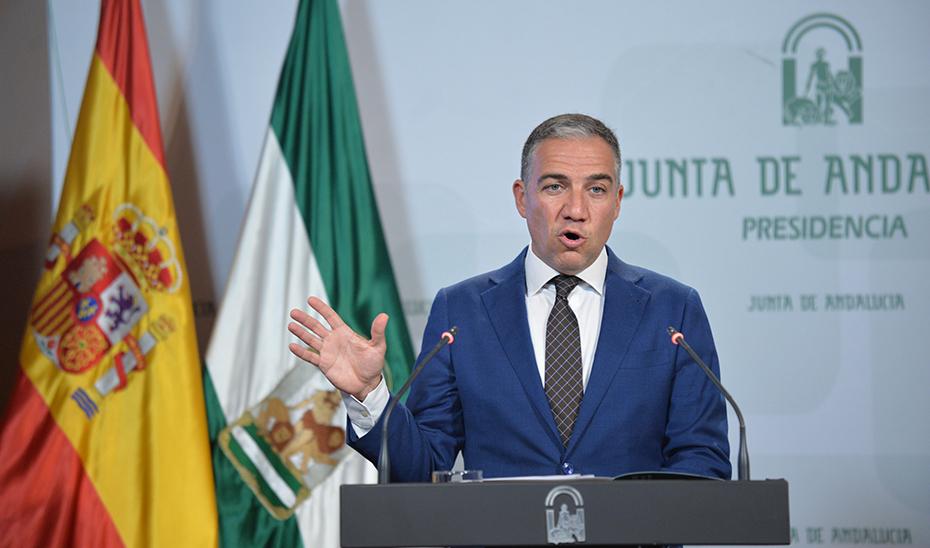 Bendodo anuncia una estrategia frente al desafío demográfico en Andalucía