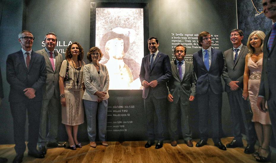 Juanma Moreno aboga por recuperar el protagonismo histórico de Andalucía y proyectarlo hacia el futuro