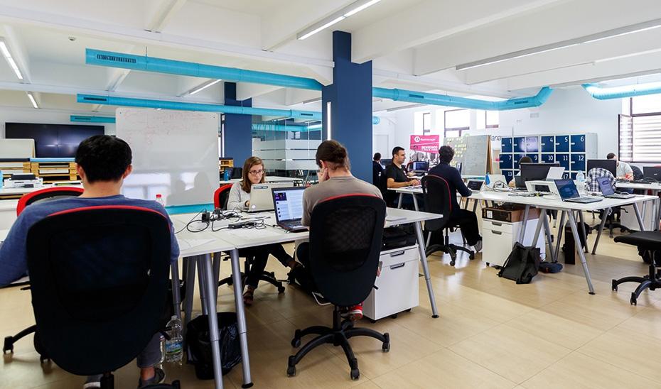 Centro de crowdworking del programa Andalucía Open Future.