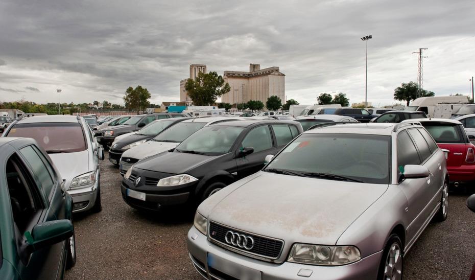 Depósito judicial público de vehículos en Sevilla.