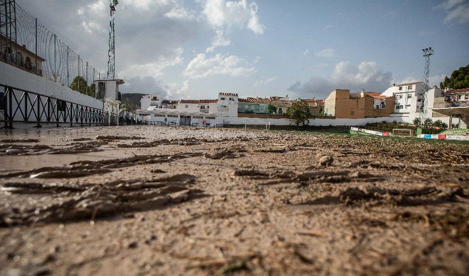 Ejemplo de los destrozos causados por la DANA a su paso por las provincias de Almería y Málaga a mediados de septiembre.
