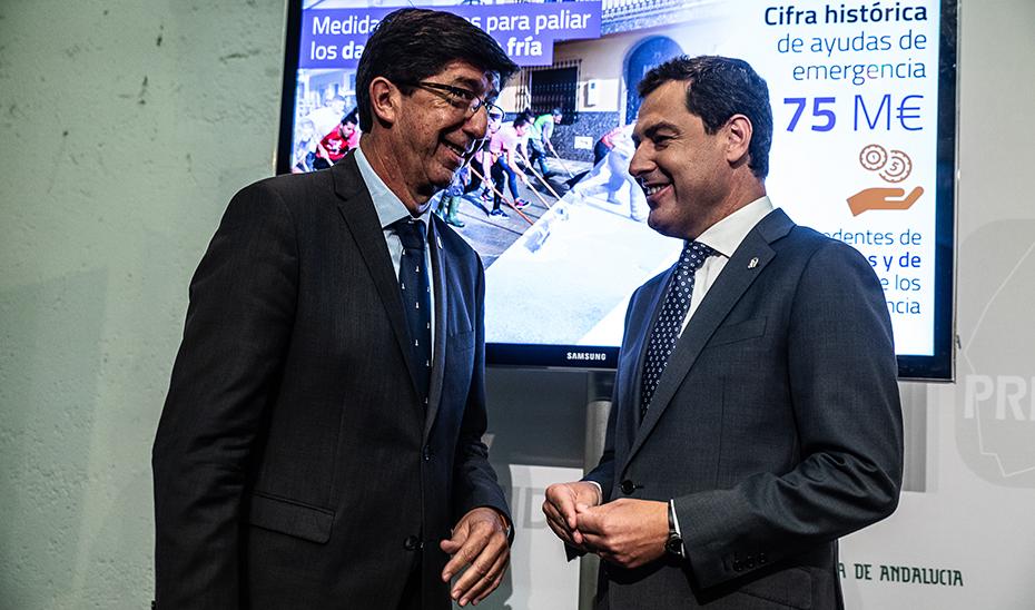 Comparecencia informativa del presidente de la Junta, Juanma Moreno, tras el Consejo de Gobierno (audio íntegro)