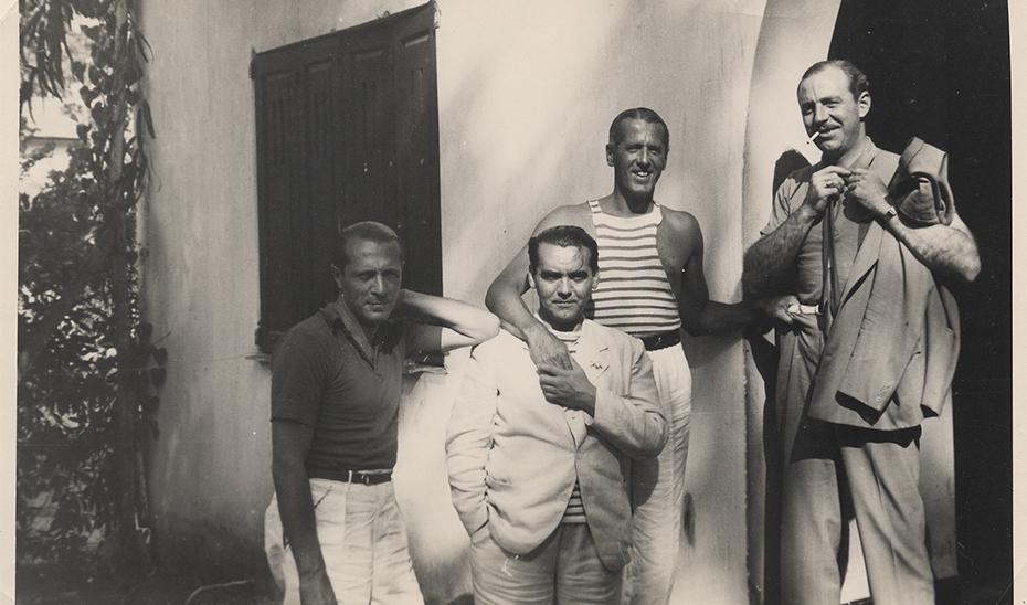 Lorca enamorado en la muestra 'Jardín deshecho'