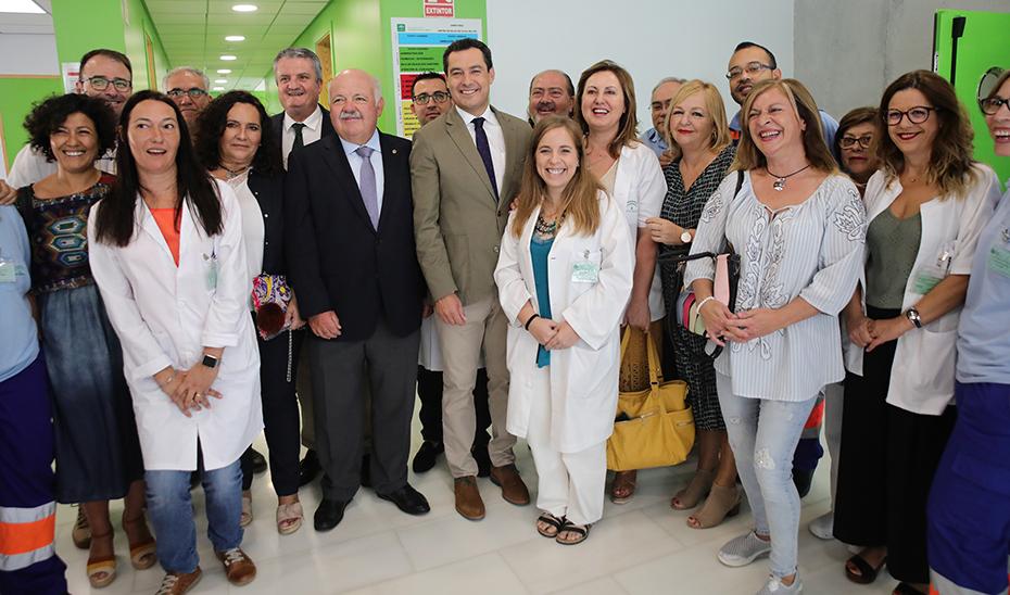 Moreno apuesta por un sistema público sanitario con servicios eficientes y de calidad