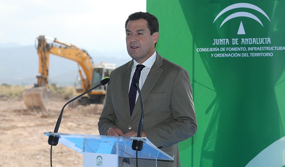 Moreno destaca la publicación en BOJA del reparto de las ayudas a los municipios afectados por el temporal