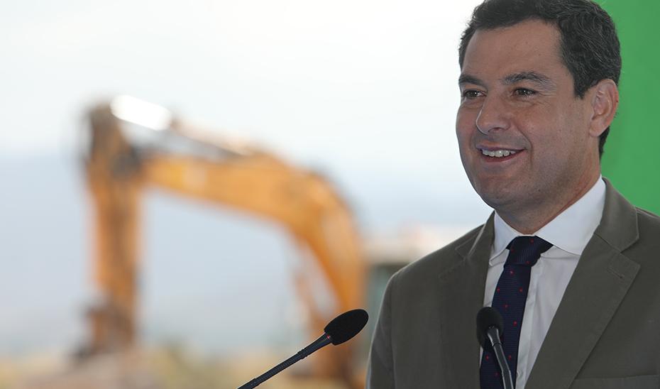 Moreno señala que la Autovía del Almanzora es un proyecto estratégico para Andalucía