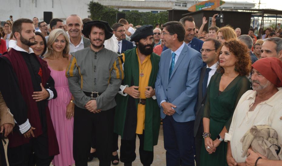 La Nao Victoria parte desde Sanlúcar 500 años después promocionando Andalucía