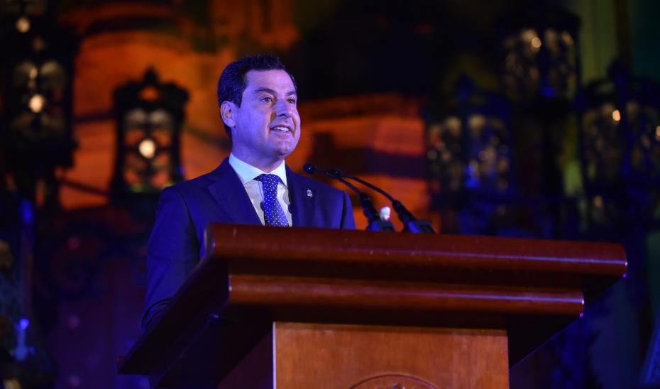 Juanma Moreno es nombrado Capataz de Honor de la Fiesta de la Vendimia de La Palma del Condado