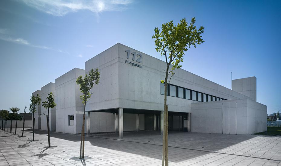 Sede regional y provincial de Emergencias 112 Andalucía en Sevilla.