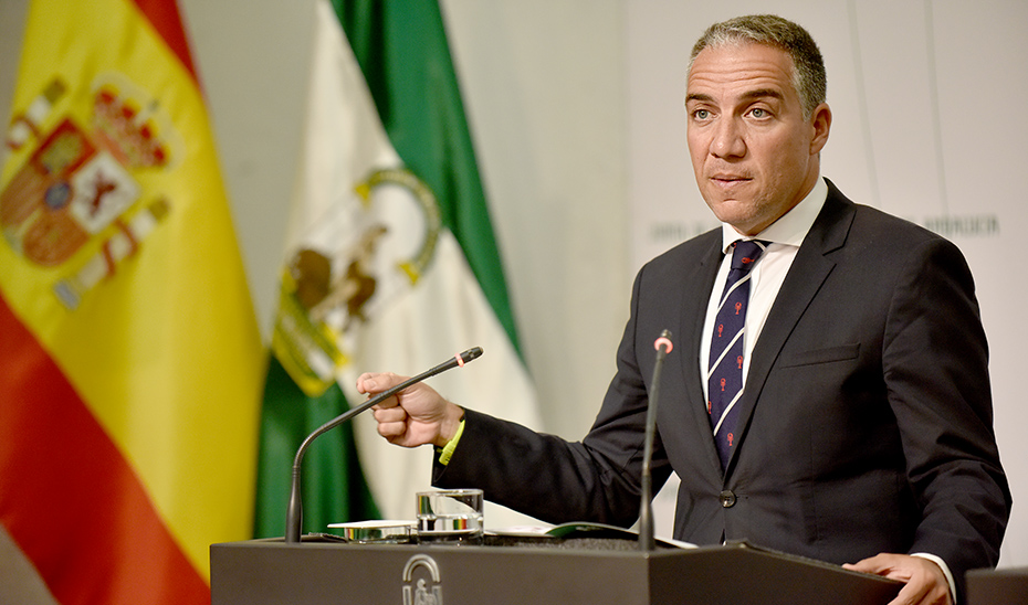 Bendodo informa de que el presidente Moreno ha enviado una carta a Pedro Sánchez reclamando 1.350 millones