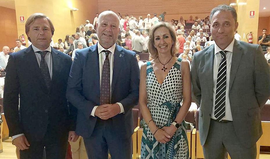 El consejero de Educación y Deporte, Javier Imbroda, este jueves en Córdoba en la inauguración de la jornada formativa.