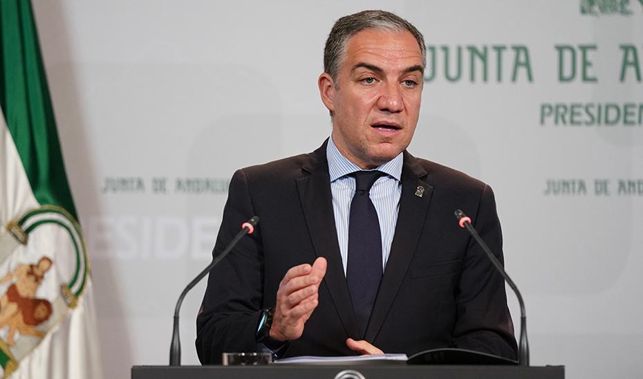 Bendodo destaca el incremento de la producción industrial en Andalucía