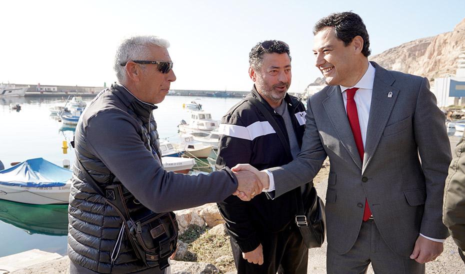 La Junta destinará diez millones de euros para la recogida y reciclaje de los residuos generados por el sector pesquero