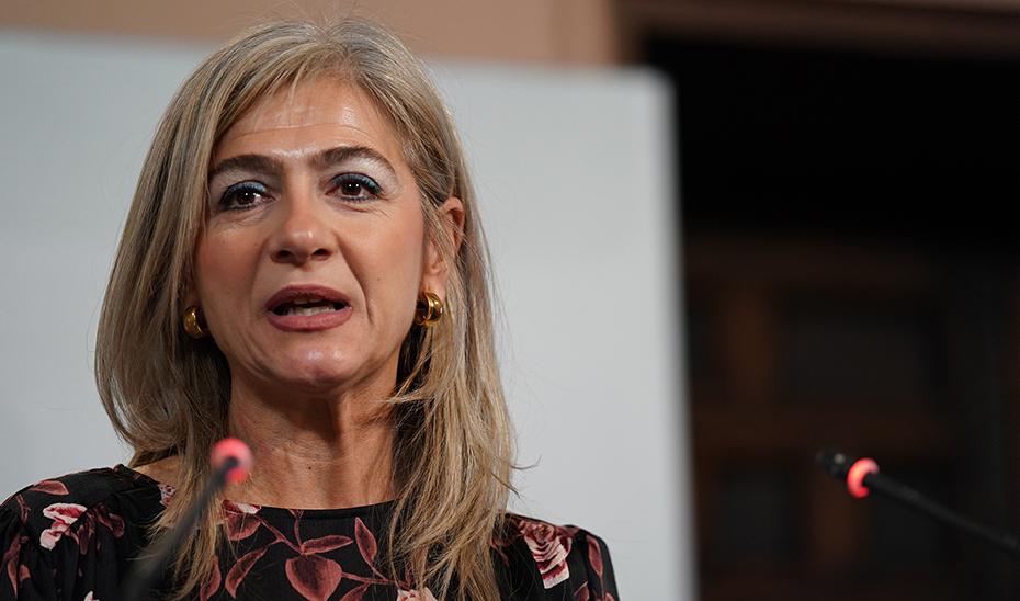 Patricia del Pozo explica el nuevo sistema de venta de entradas de la Alhambra