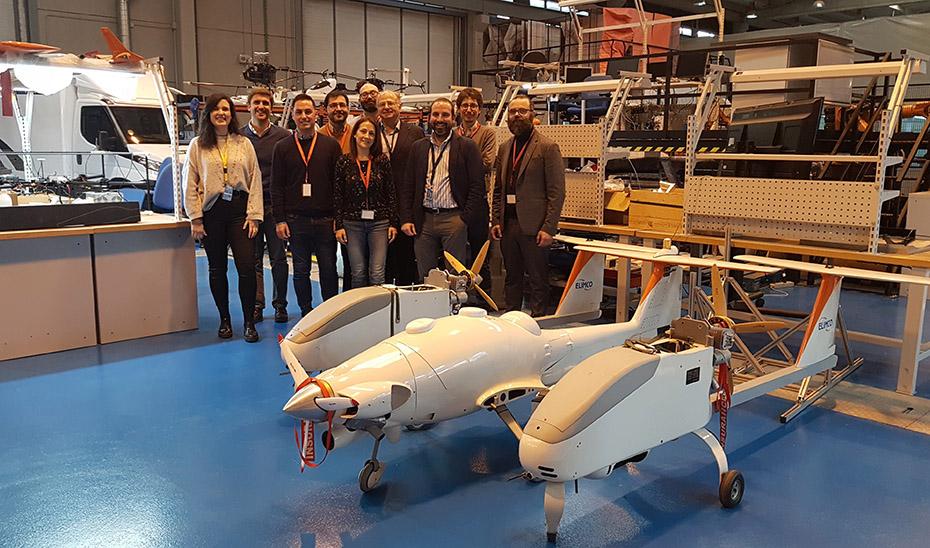 Participantes en el programa estratégico iMOV3D.