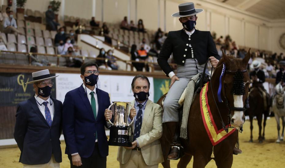 Marín destaca el impacto turístico y económico que el mundo del caballo tiene en Andalucía