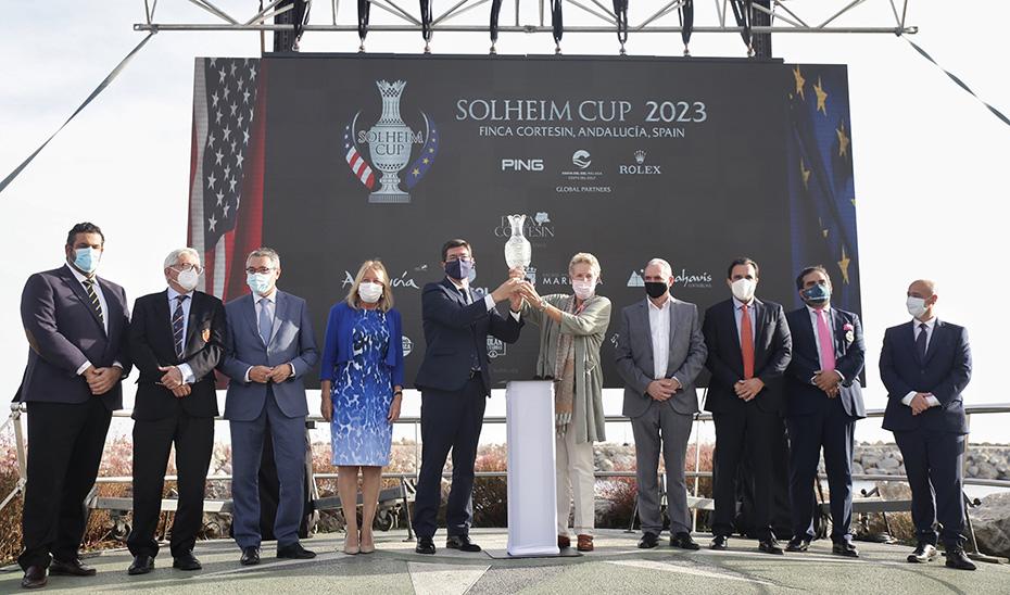 Marín destaca que la Solheim Cup 2023 refuerza la imagen de Andalucía como referente internacional