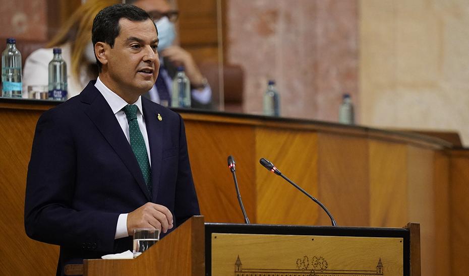 Intervención del presidente Juanma Moreno en el Debate del estado de la Comunidad