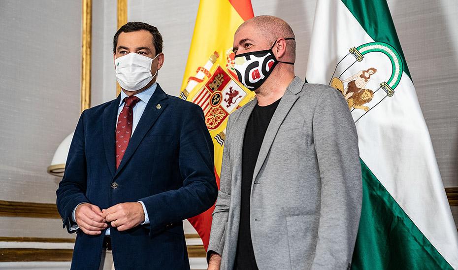 Moreno destaca la estabilidad y el diálogo social como base para la recuperación de Andalucía