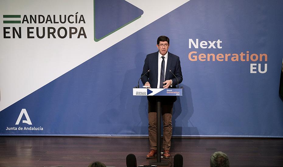 Marín presenta el órgano gestor de los fondos europeos, la Oficina Next Generation