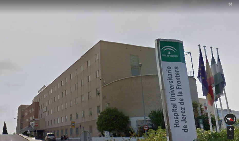 Hospital de Jerez de la Frontera.