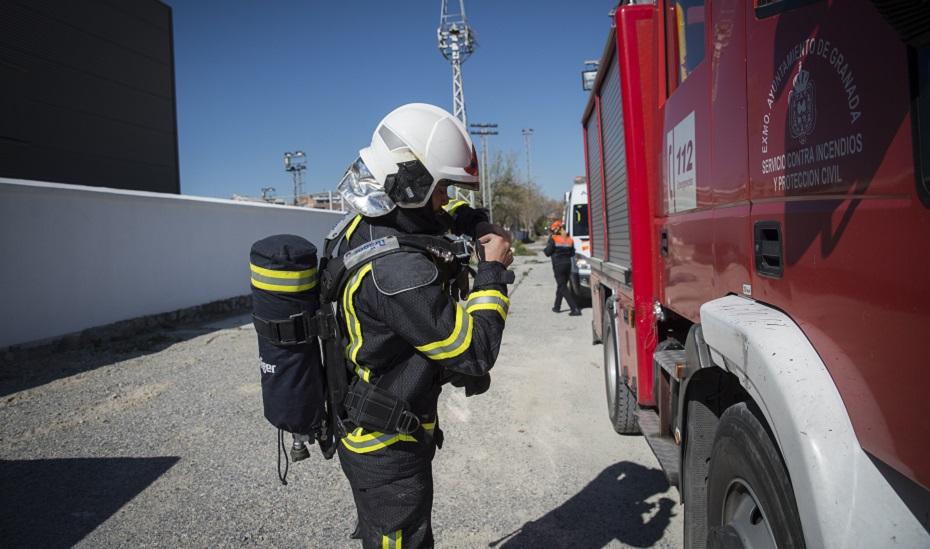 Efectivos de bomberos en una imagen de archivo.