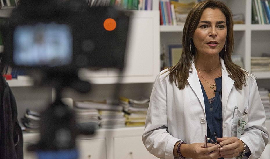 La doctora María Jesús Pareja, coordinadora autonómica de la Red de Laboratorios Clínicos del sistema sanitario público.
