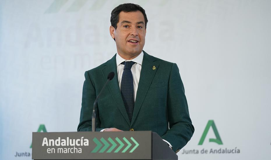 Intervención del presidente de la Junta en la inauguración de la segunda planta de Pediatría del Materno Infantil del Hospital Regional de Málaga