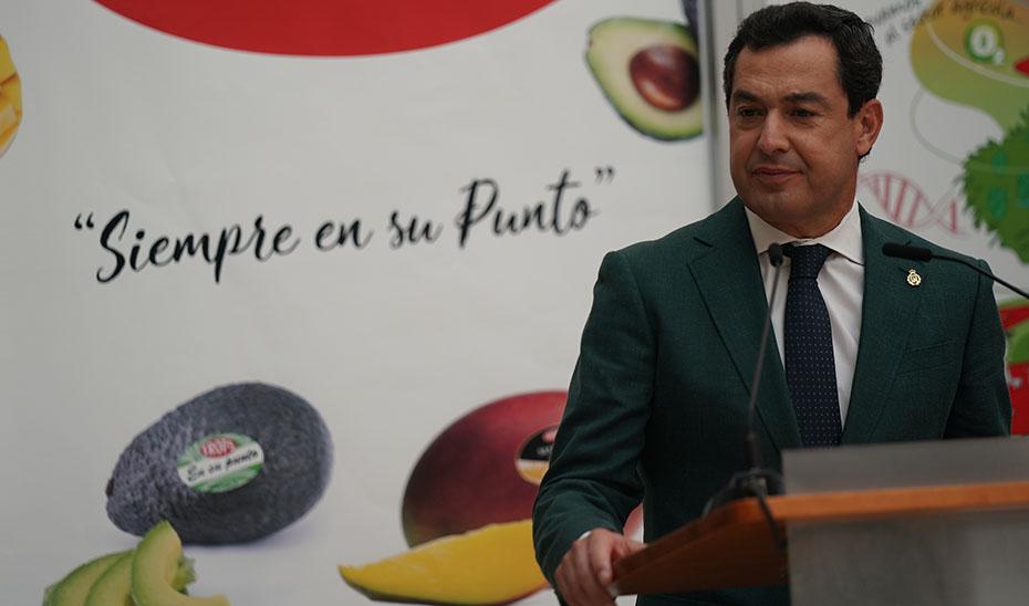 Intervención del presidente de la Junta en el acto de entrega del certificado de sostenibilidad a la empresa agroalimentaria Trops