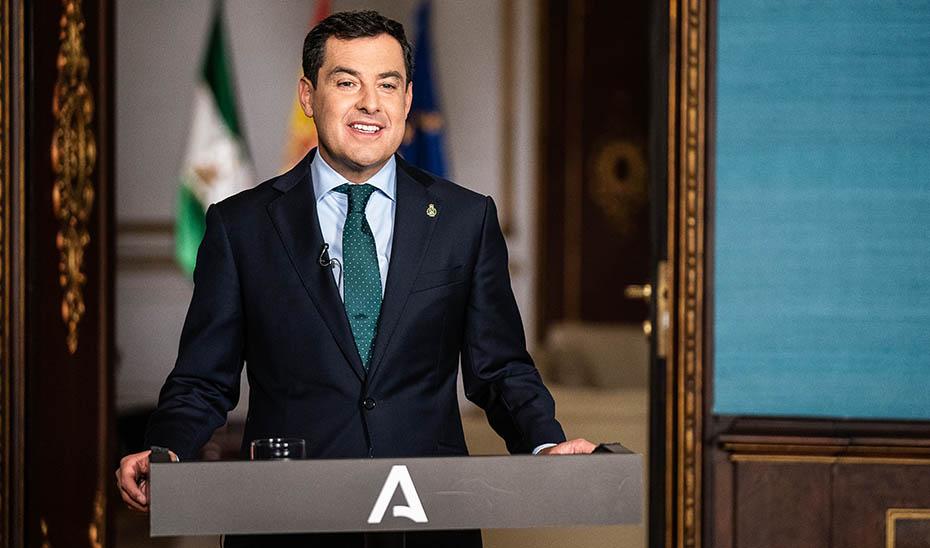 """Juanma Moreno: """"Andalucía necesita del talento y la fuerza de las mujeres"""""""