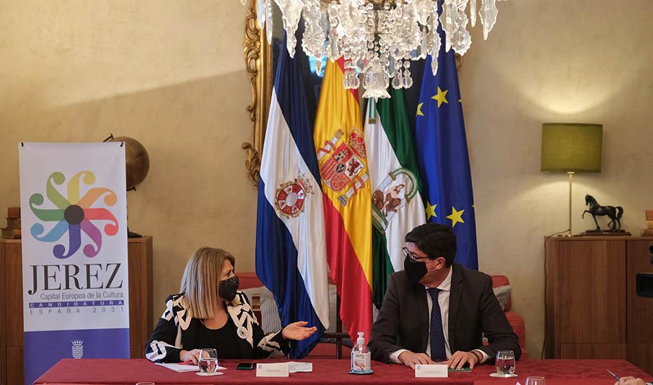 Marín presenta las líneas generales del Plan Turístico de Grandes Ciudades de Jerez de la Frontera