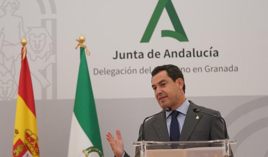 Intervención de Juanma Moreno tras la reunión del Comité Territorial de Alertas de Salud Pública de Alto Impacto de Granada
