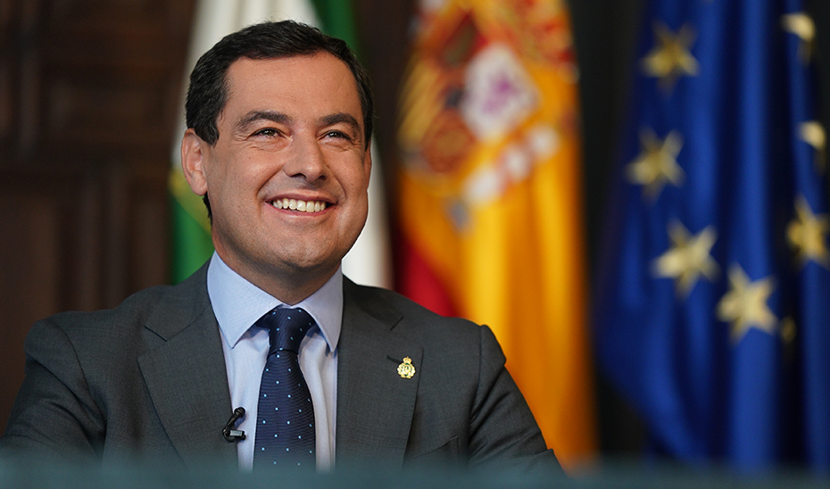 Juanma Moreno clausuró de forma telemática desde San Telmo el foro sobre turismo y Covid.