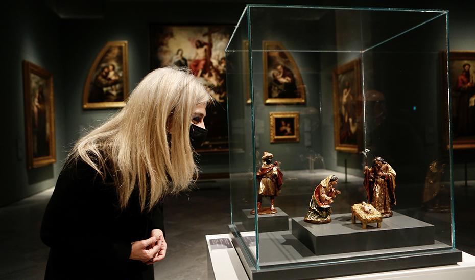 La pinacoteca programa visitas guiadas para conocer este Nacimiento, que estará expuesto hasta el próximo 31 de enero.