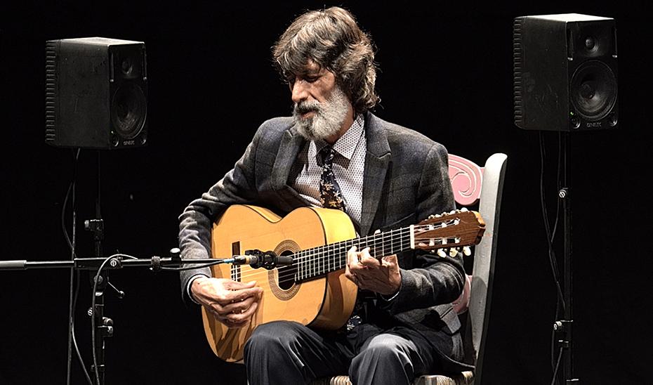 Emilio Caracafé presenta en el Teatro Central 'La voz de mi guitarra' el próximo 17 de marzo.