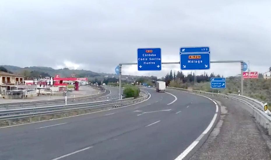 El tráfico en las carreteras autonómicas cae un 70% durante el estado de alarma