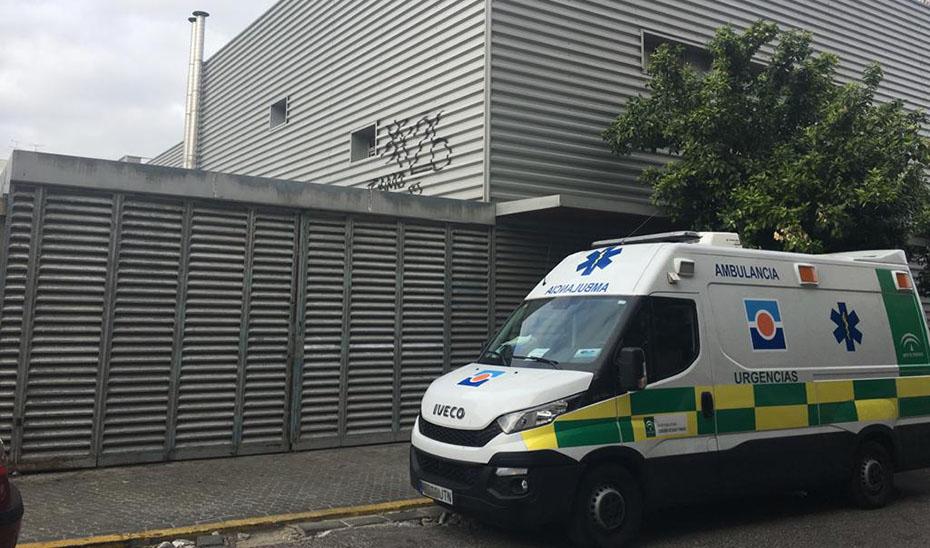 Ambulancia del Servicio Andaluz de Salud (SAS).