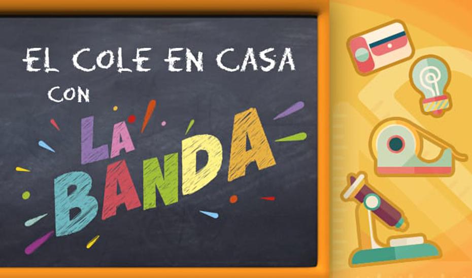 El cole en casa con La Banda, el nuevo espacio educativo de Canal Sur Televisión.