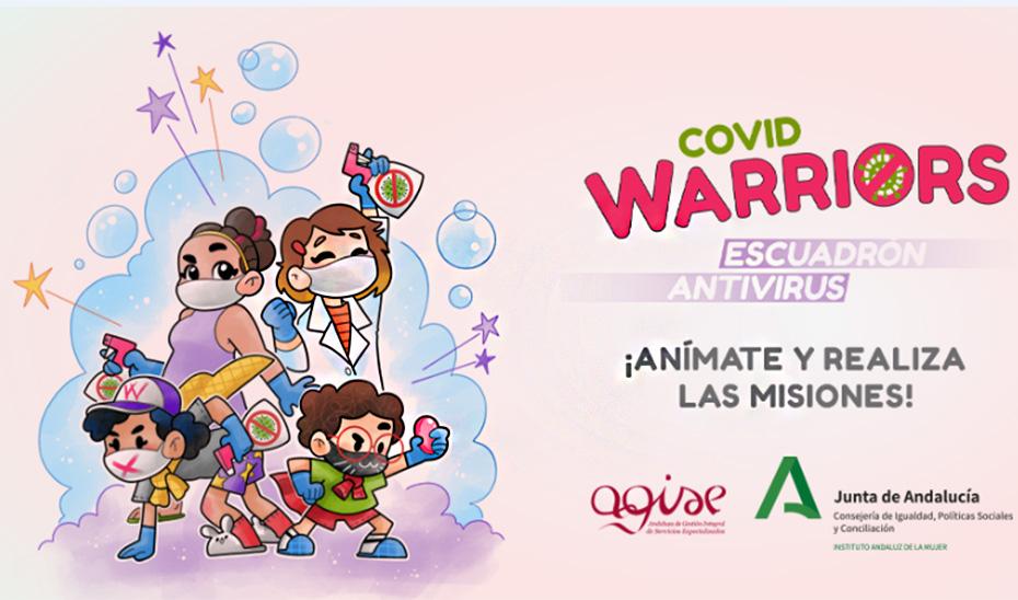 Protagonistas del escuadrón \u0027Covid Warriors\u0027, proyecto puesto en marcha por el IAM.