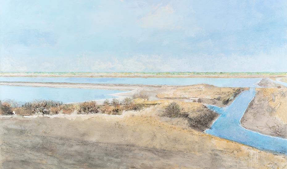 'Salinas de Bonanza' (2019), obra de la muestra'Carmen Laffón. La sal', que podrá visitarse en el CAAC a partir de septiembre.
