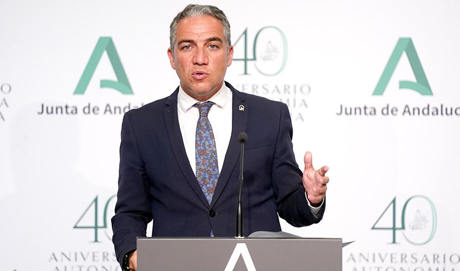 Elías Bendodo informa del decreto que regula el Plan Vive en Andalucía