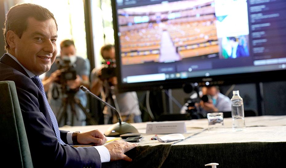 Moreno propone en Europa dar un mayor apoyo a las regiones más afectadas por el cambio climático