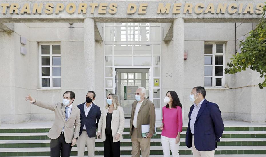 Ampliación del Centro de Transportes de Mercancías de la Negrilla