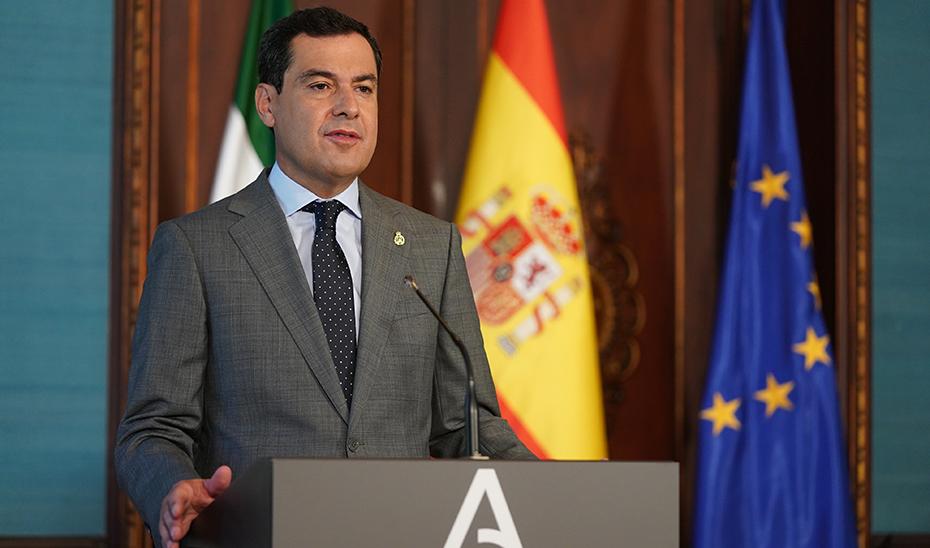 Intervención de Juanma Moreno en el acto de toma de posesión de Leandro Cabrera como miembro del Consejo Consultivo