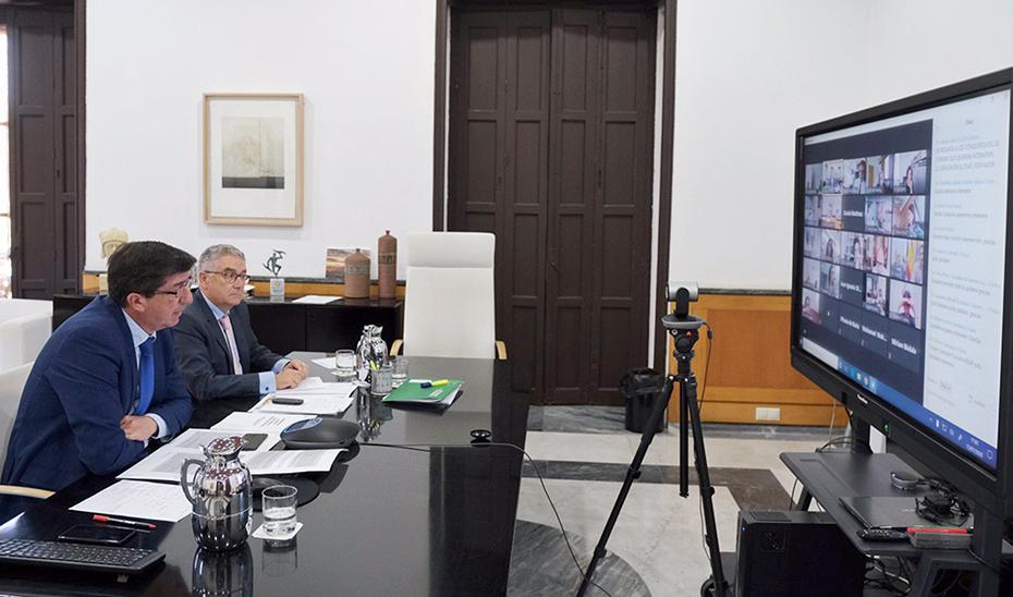 Juan Marín exige al Gobierno central que tome medidas para la gestión de la crisis del turismo