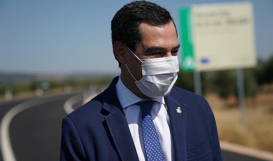Intervención de Juanma Moreno en la inauguración de la Variante Este de Arriate