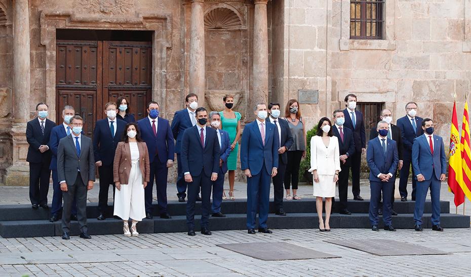 Comparecencia informativa de Juanma Moreno tras la reunión de la Conferencia de Presidentes Autonómicos